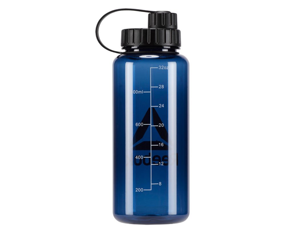 Бутылка для воды 1.0 л Reebok Plastic Water Bottle синяя фото 1