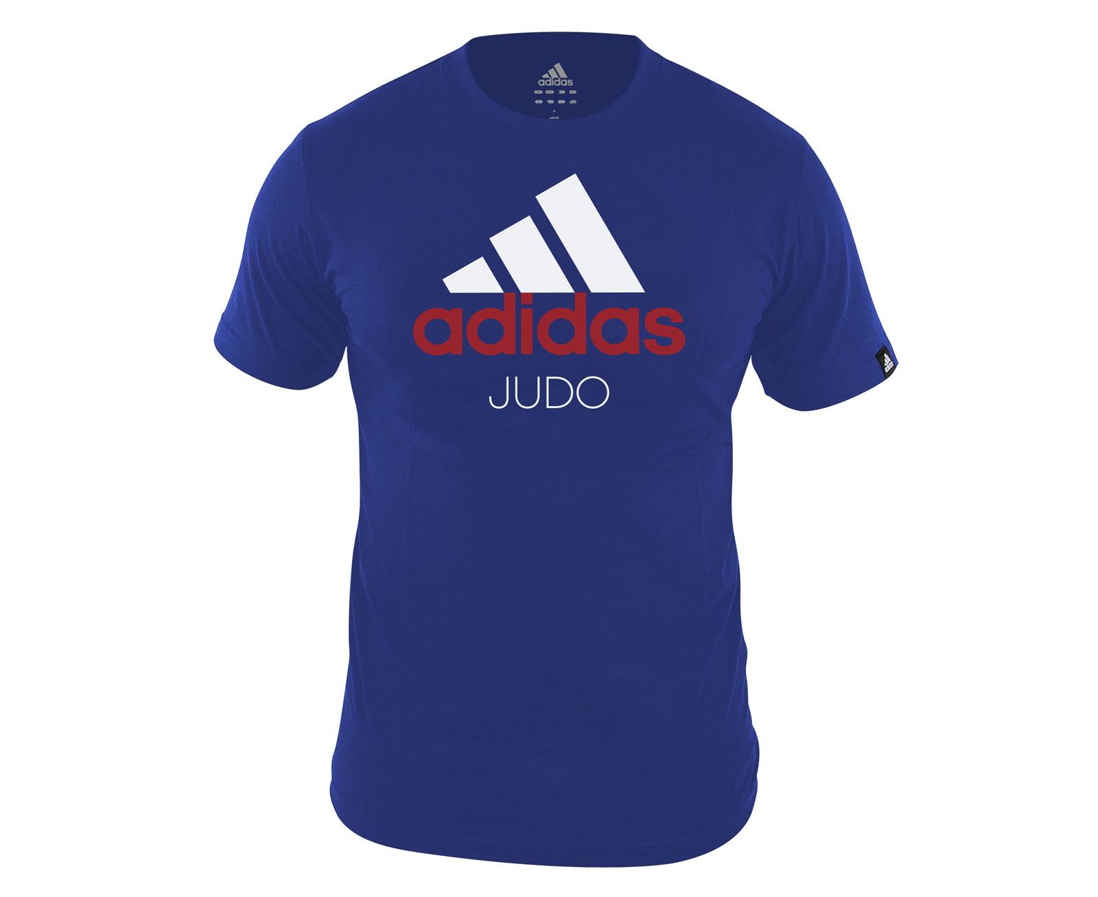 competitive price fa880 ec530 Футболка Community T-Shirt Judo сине-белая
