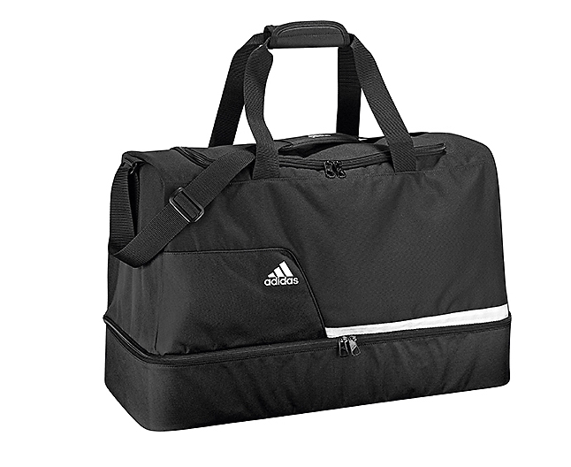 Сумка спортивная Tiro Teambag Bottom Compartment L черная