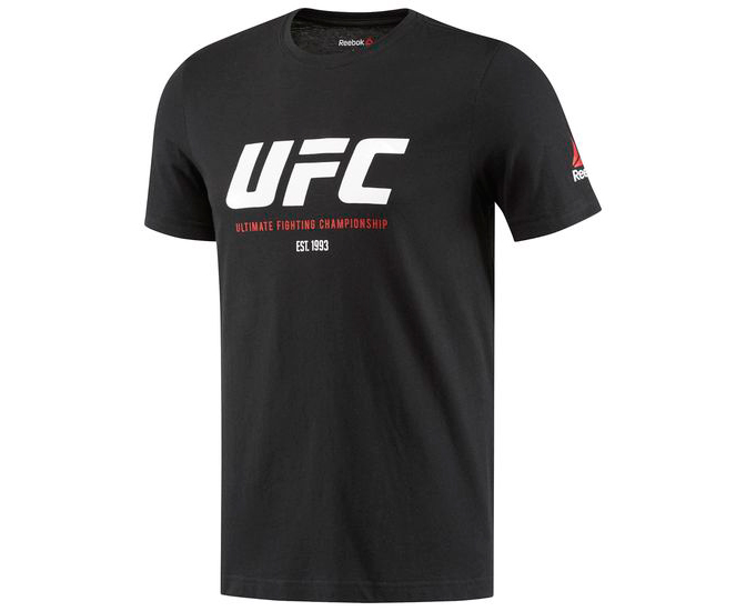 Футболка UFC Ultimate Fan Logo Tee черная