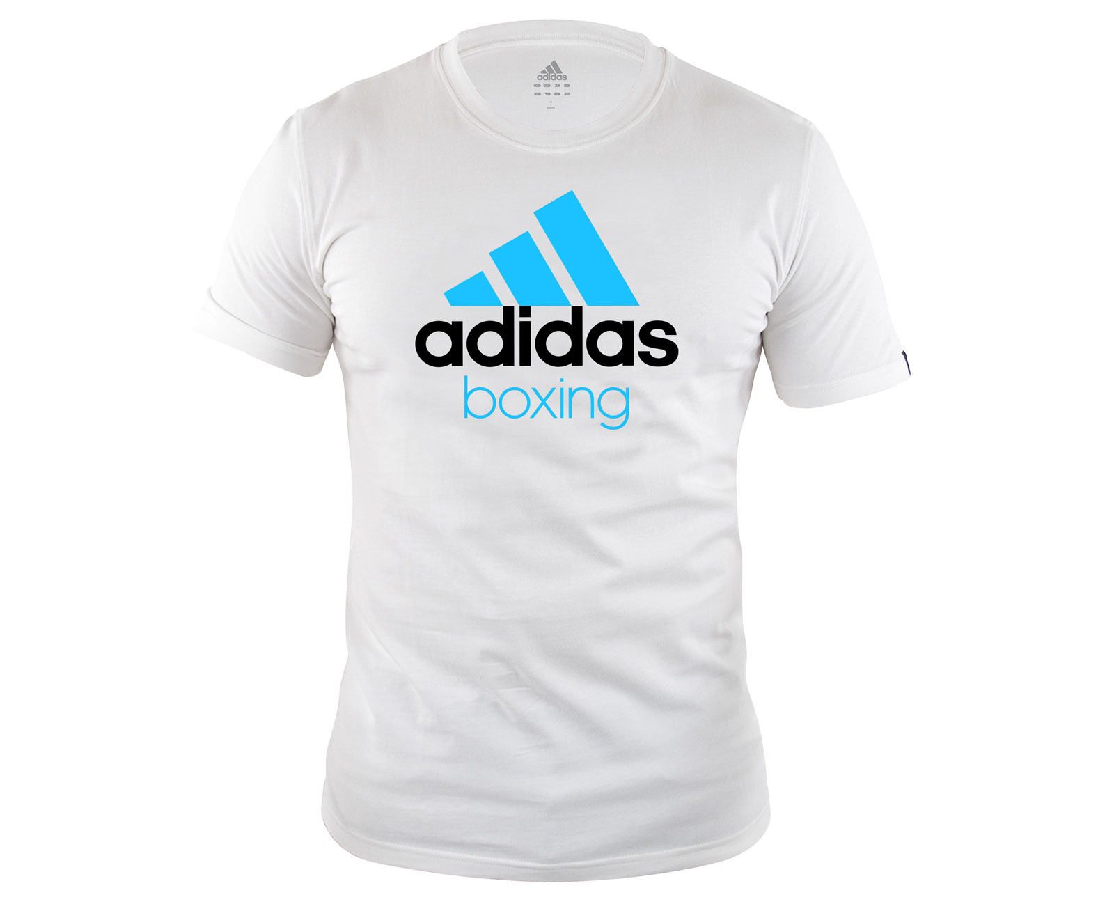 Футболка Community T-Shirt Boxing бело-синяя