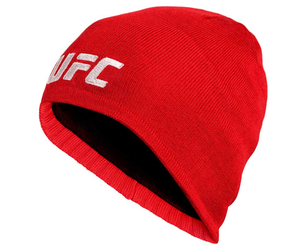 Шапка UFC Fan Lightweight Beanie красная