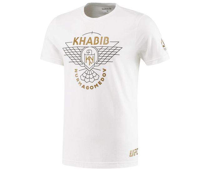 Футболка UFC Fan Khabib Nurmagomedov Fighter Tee белая