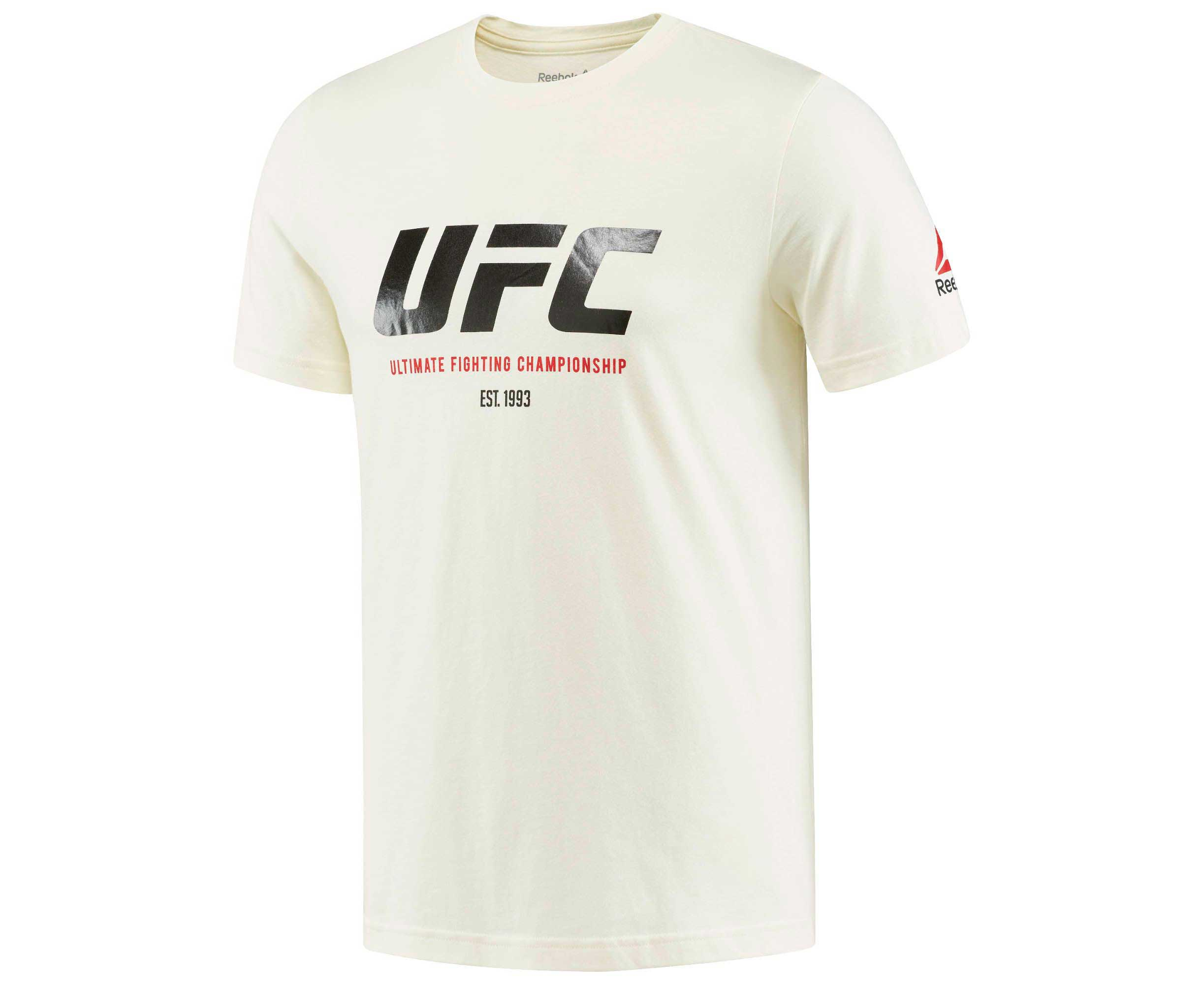 Футболка UFC Ultimate Fan Logo Tee белая