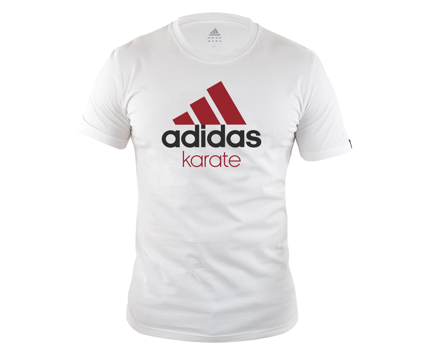 Футболка Community T-Shirt Karate бело-красная
