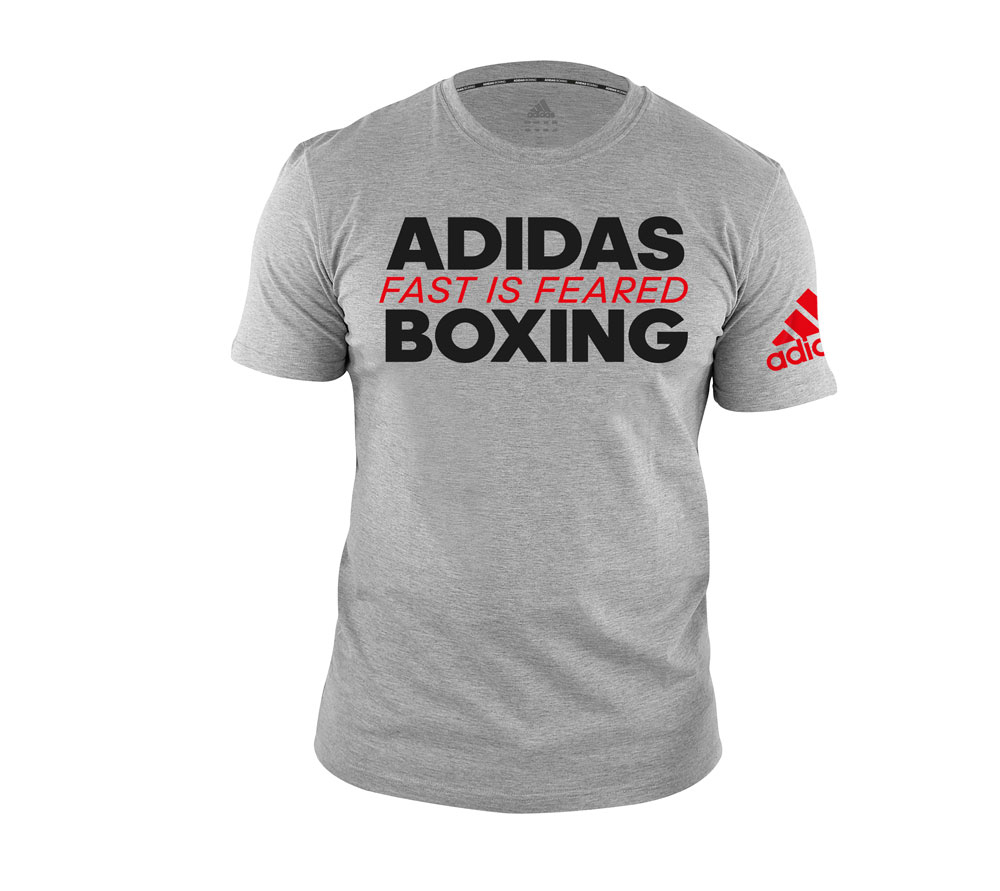 Футболка Boxing Tee Fast Is Feared серая