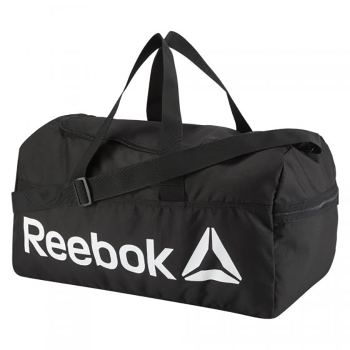 Сумка спортивная Active Core Medium Bag M черно-белая