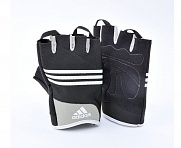 Перчатки для фитнеса Stretchfit Training Gloves черные