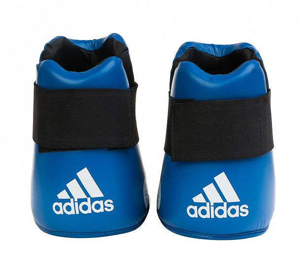 Защита стопы WAKO Kickboxing Safety Boots синяя фото 6