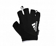 Перчатки для фитнеса Essential Gloves черно-белые